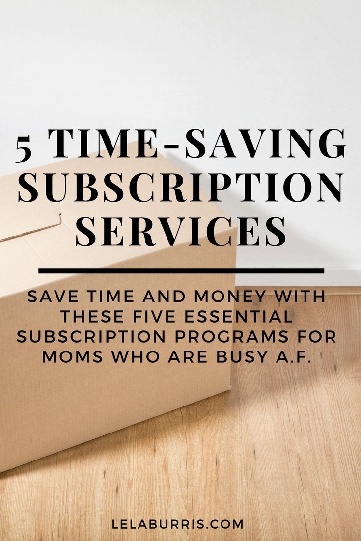 5 Subscription Services That Save You Time And Money
