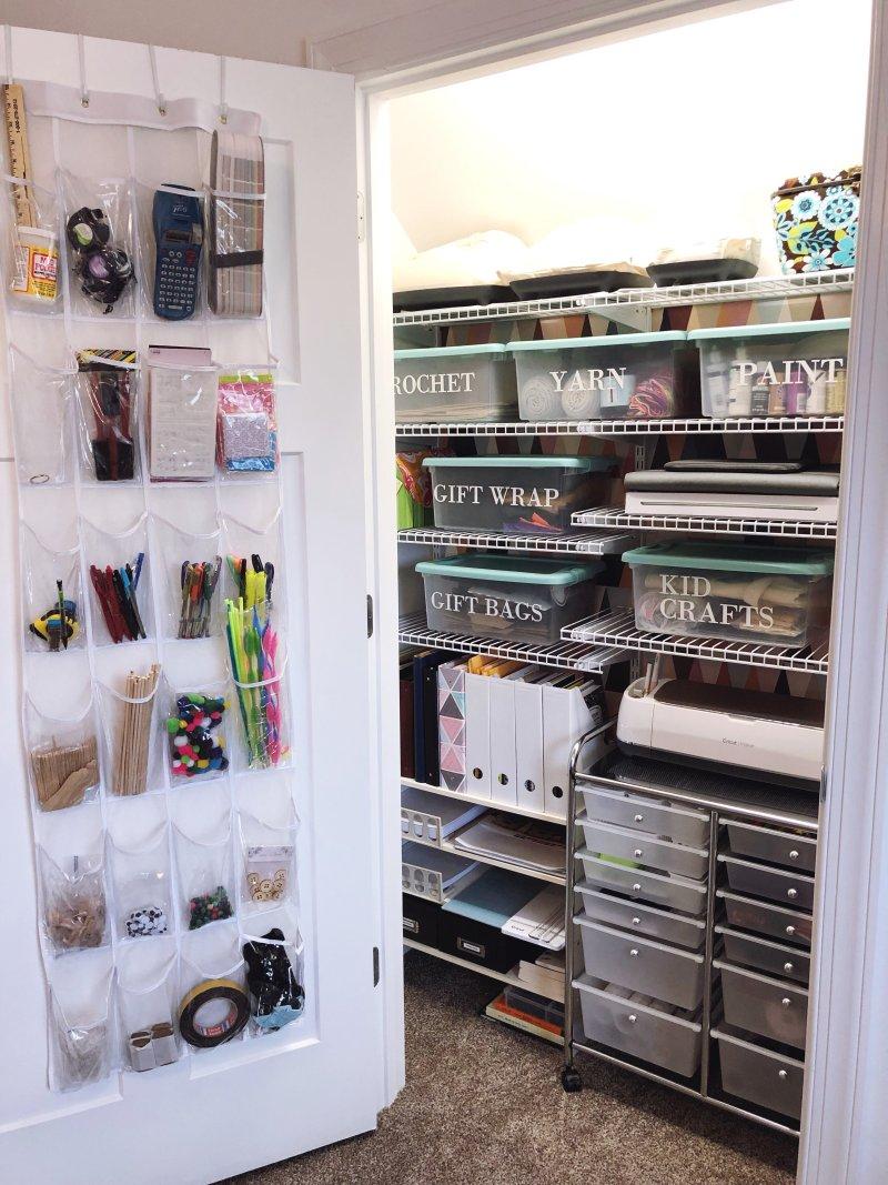 Lela Burris Craft Closet for Cricut Maker