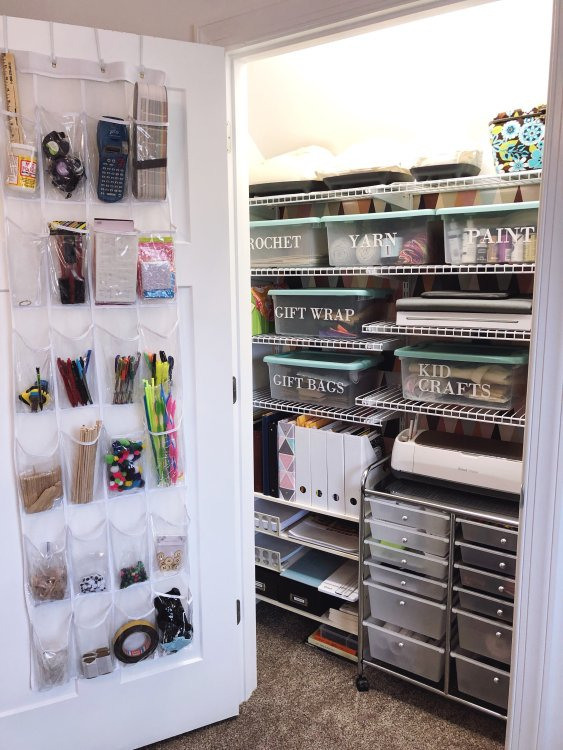 Lela Burris Craft Closet for Cricut Maker