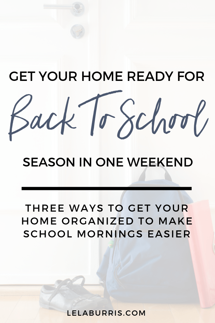 3 back to school tips