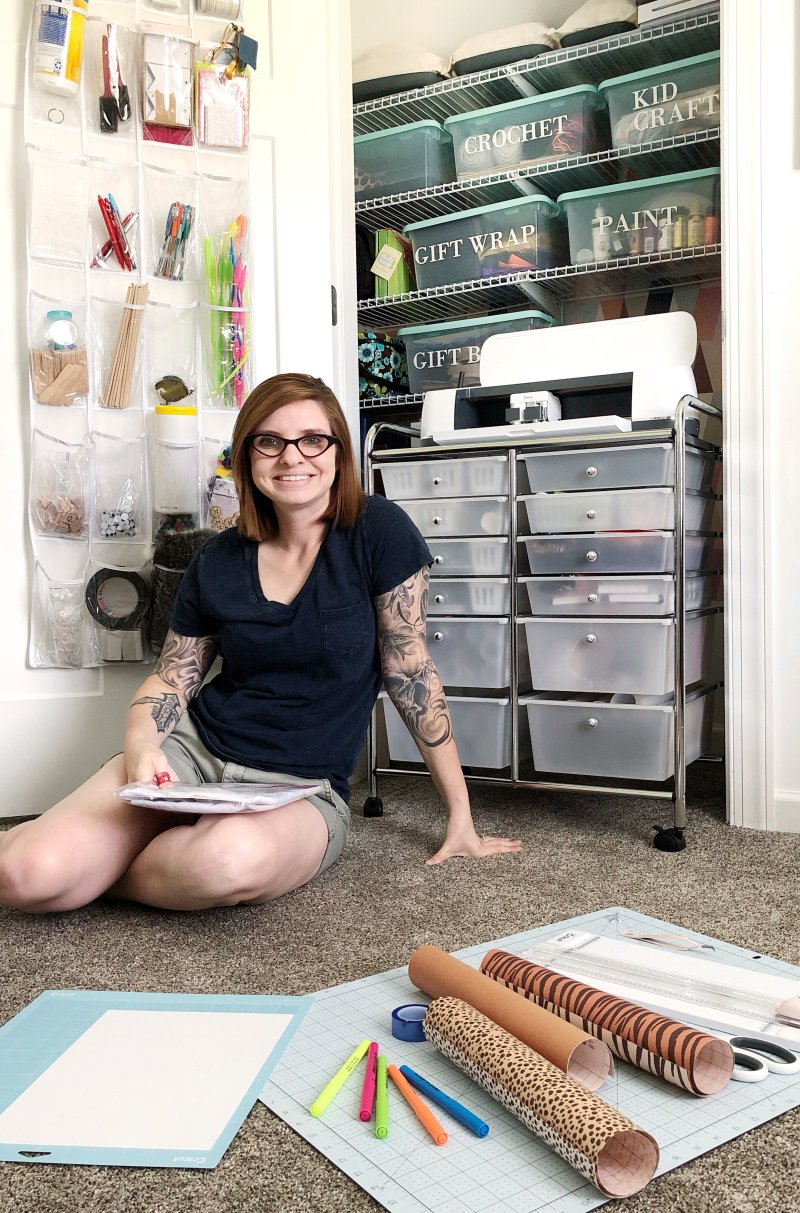 craft storage tips from Lela Burris