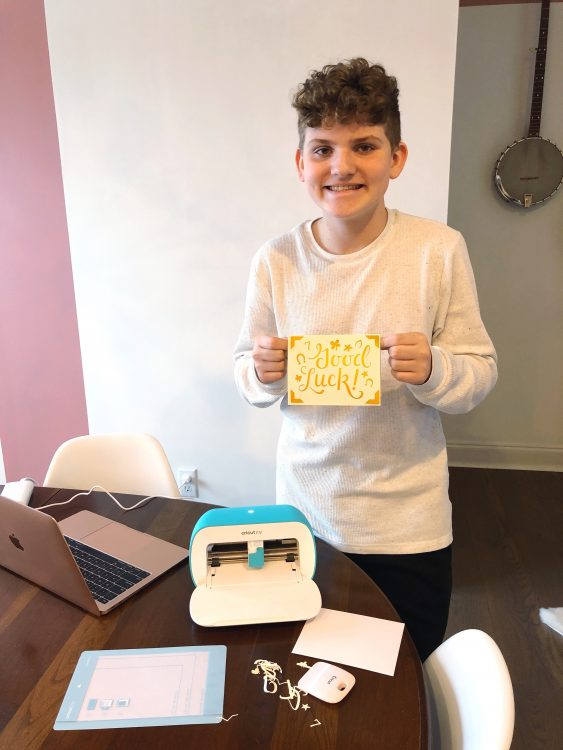 Making Cards with Cricut Joy