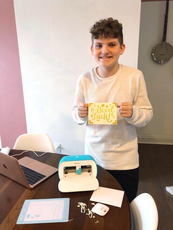 Making Cards with Cricut Joy