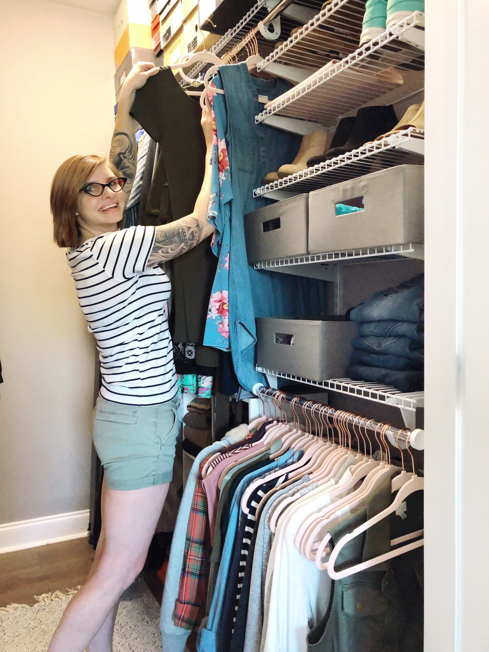 My Top 10 Best Organization Tips For Small Closets Organized Ish By Lela Burris