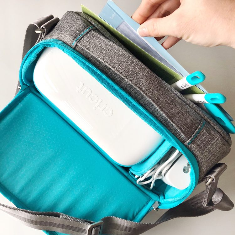 Cricut Joy travel bag by Organized-ish Lela Burris