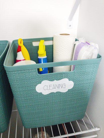 bathroom labels Cricut Joy