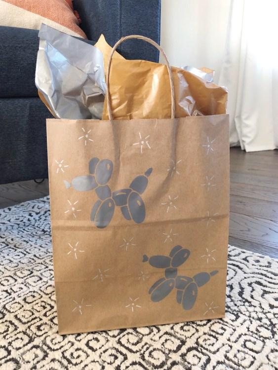Cricut Joy diy gift bag