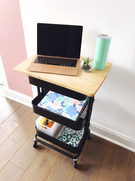diy rolling office