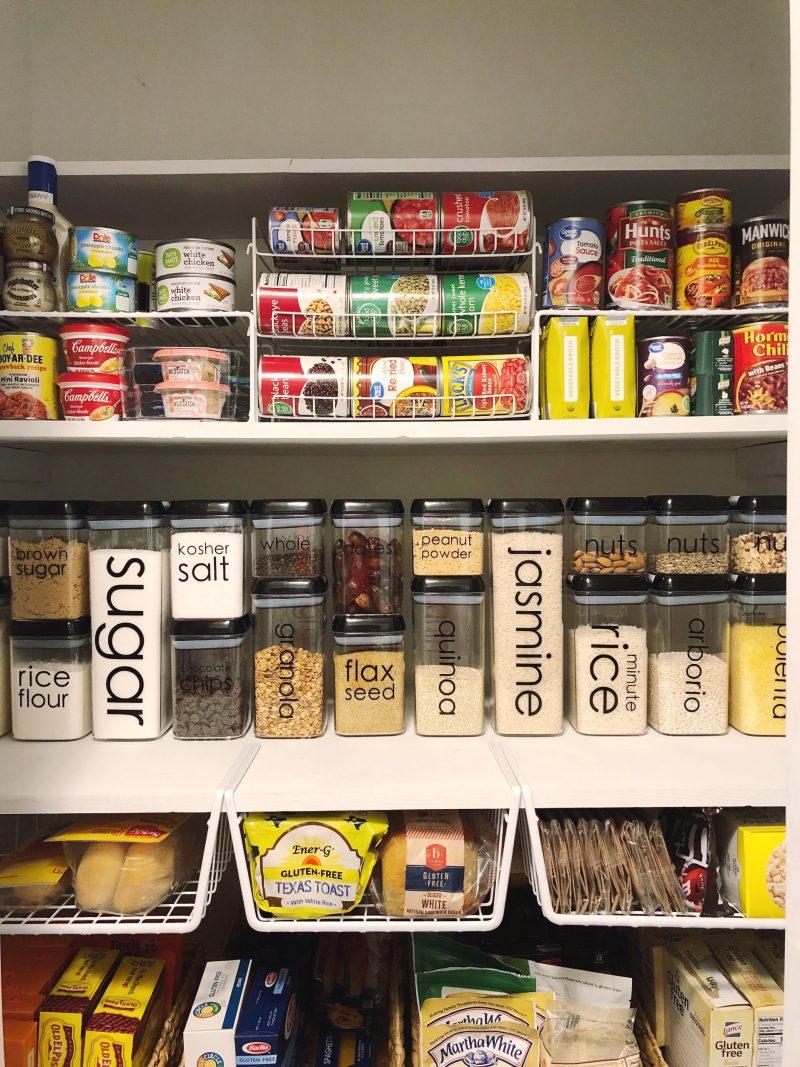 pantry organization tips from Lela Burris, professional organizer