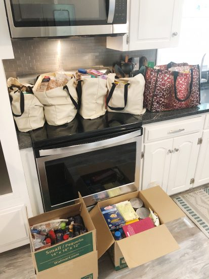 plan kitchen pantry organization