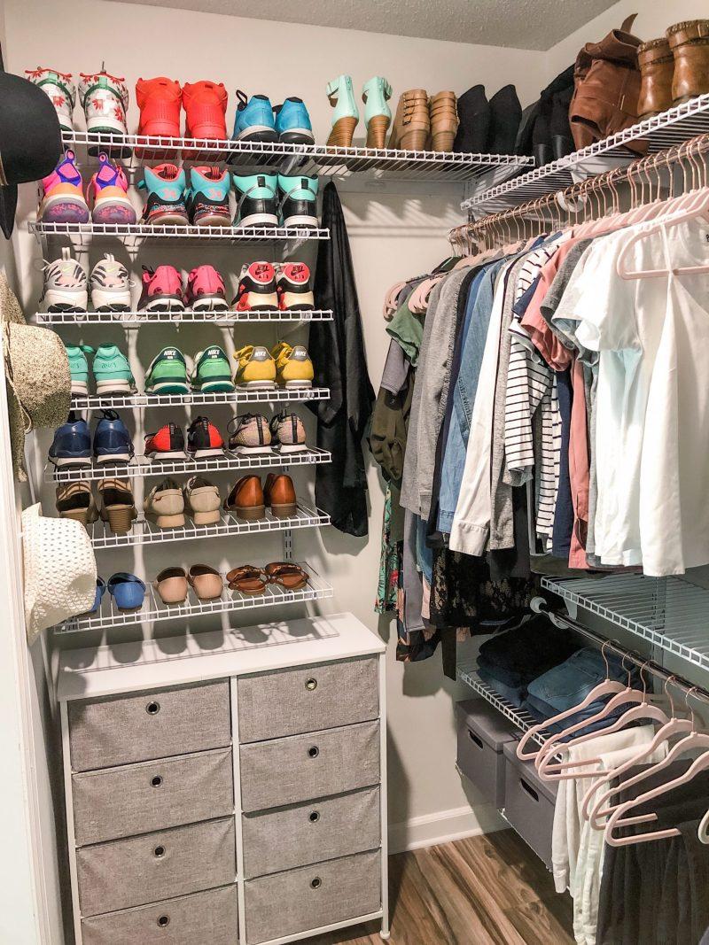 shoe sneaker organization