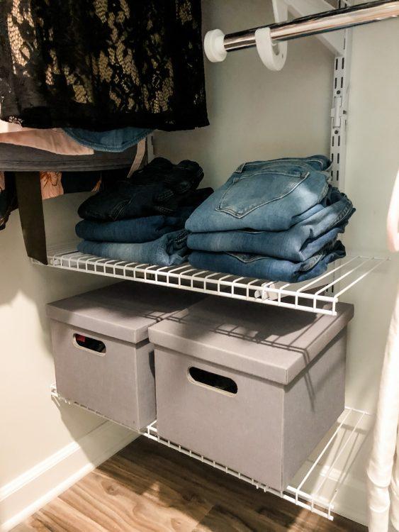 closet storage and shelving ideas