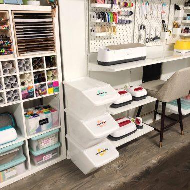 craft room organization tips