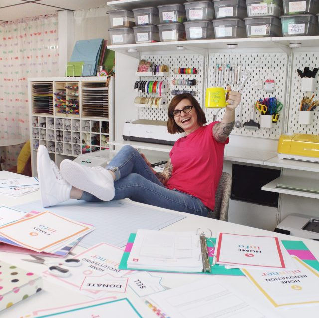 Lela Burris launching her new line of printable planners and home organizers