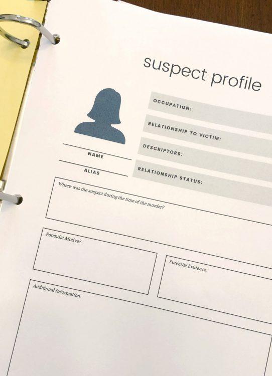 hunt a killer printable suspect profile