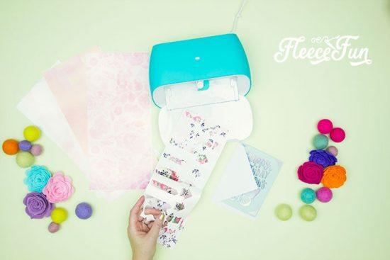 cricut joy planner stickers from fleece fun