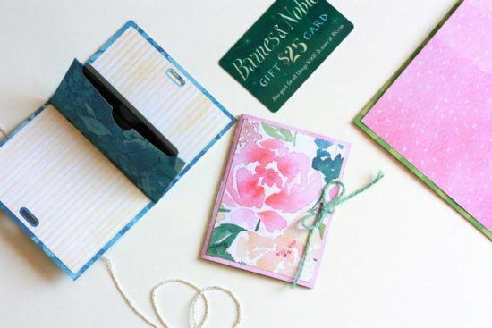 diy gift card holder with cricut from everyday jenny