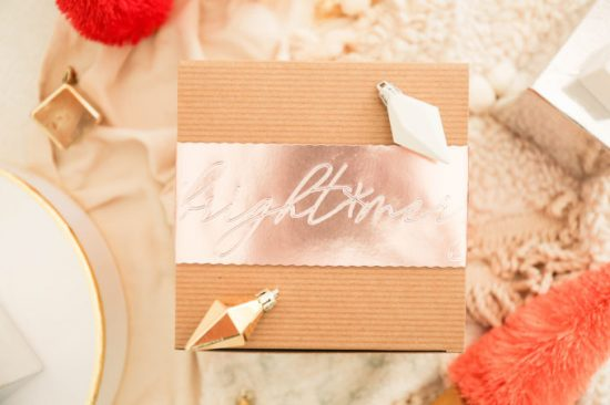 cricut gift wrap from the proper blog
