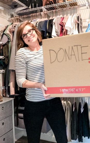 purge your closet by Lela Burris of Organized-ish
