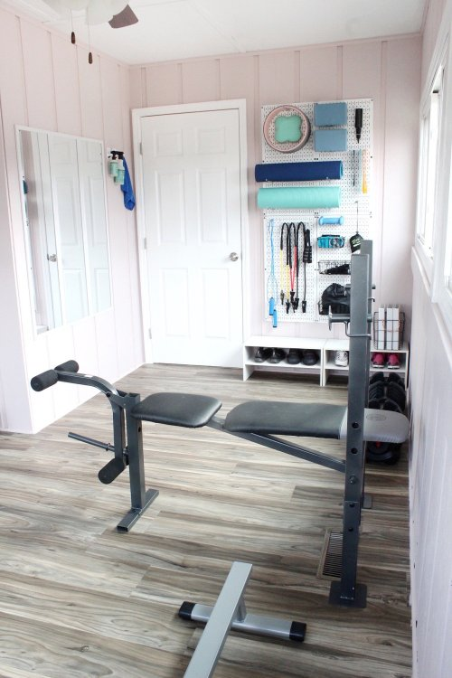 home gym organization