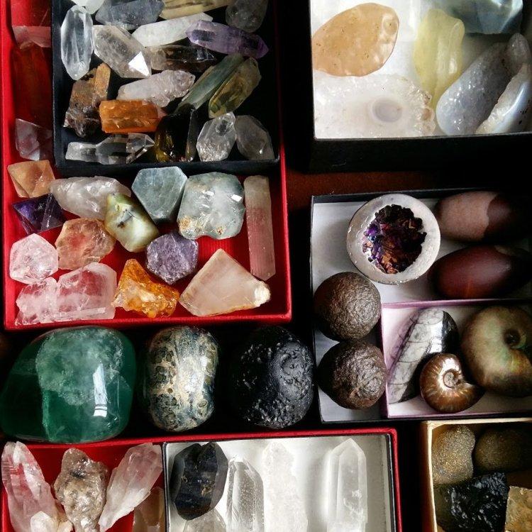 crystal organization idea from Ethan lasserini