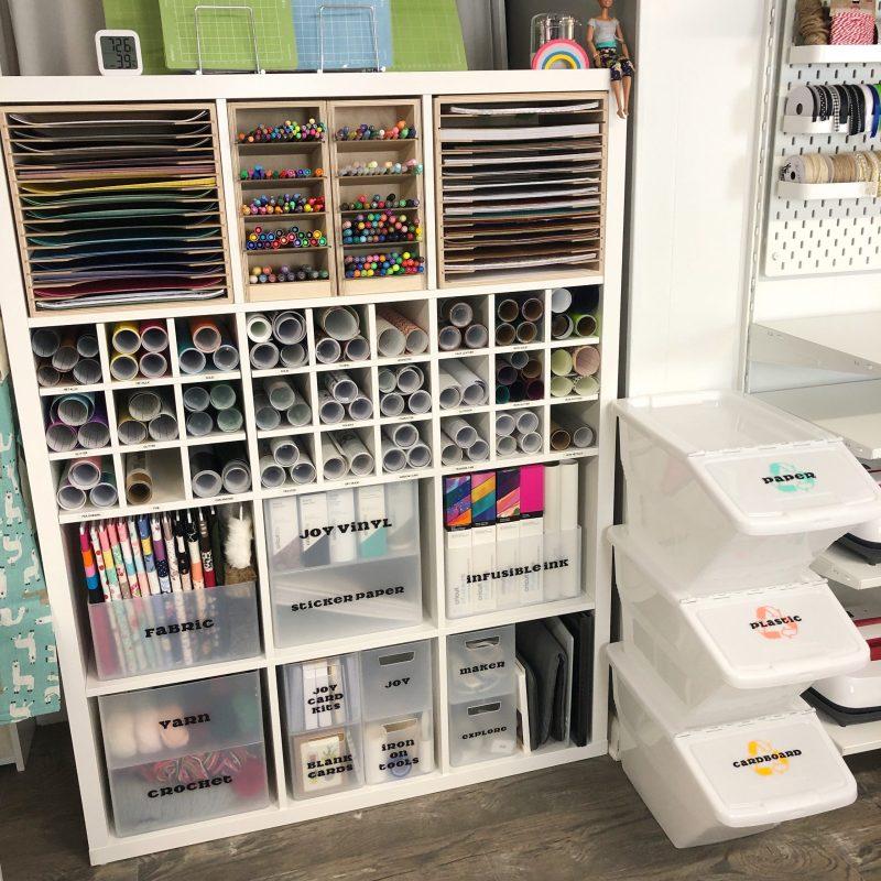 vinyl storage tips and ideas