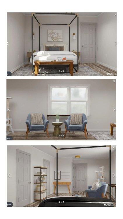 Modsy design plan