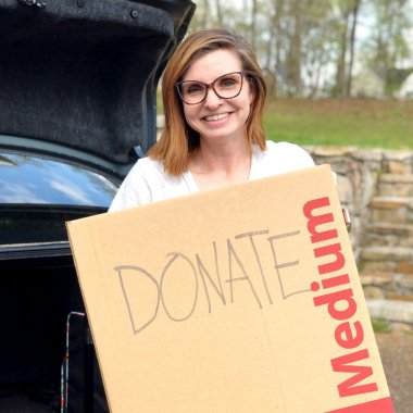 tips for setting up a running donation box at home