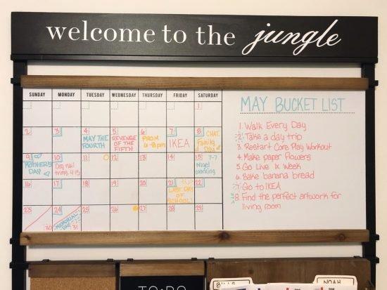 1Thrive calendar ideas