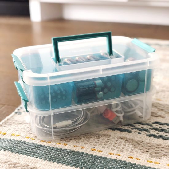 battery organization tips