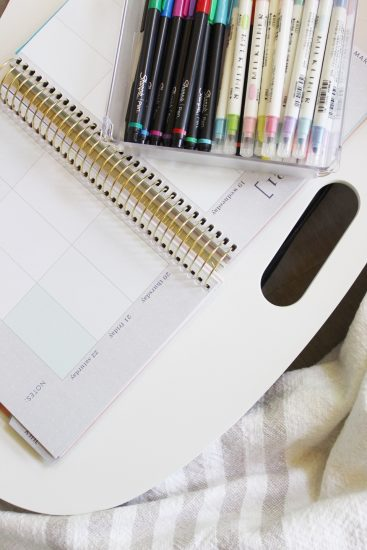lap desk for planner and bujo