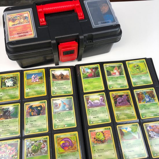 how to organize Pokemon cards for kids