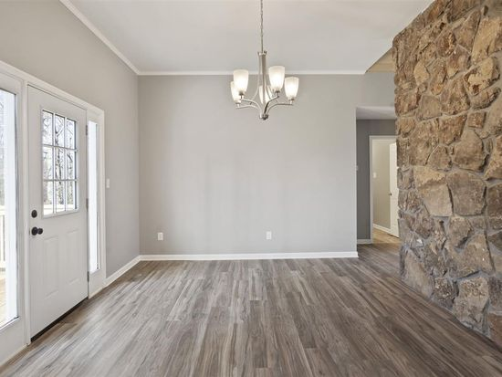 gray dining room remodel
