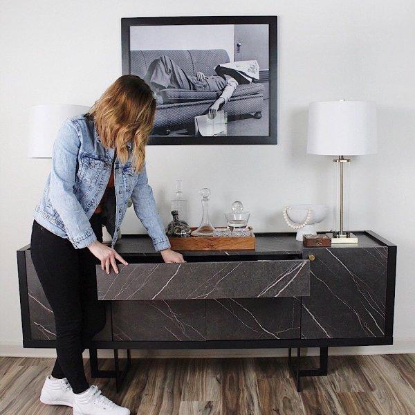 sideboard storage ideas from Lela Burris