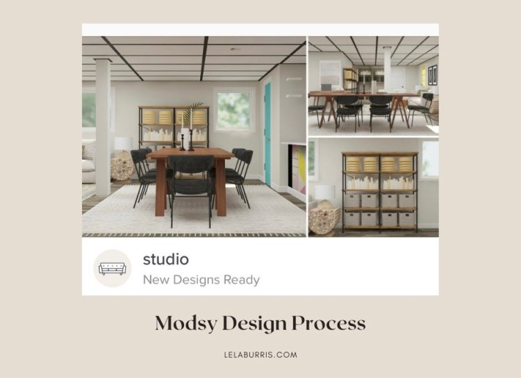 review of Modsy's design process