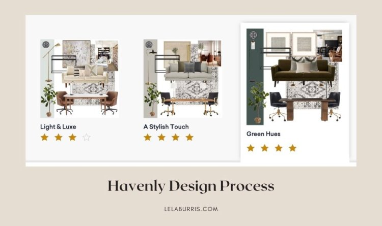 Havenly review of design process