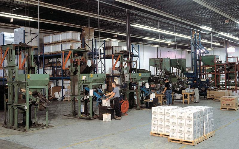 Leland Industries plant, Scarborough Ontario