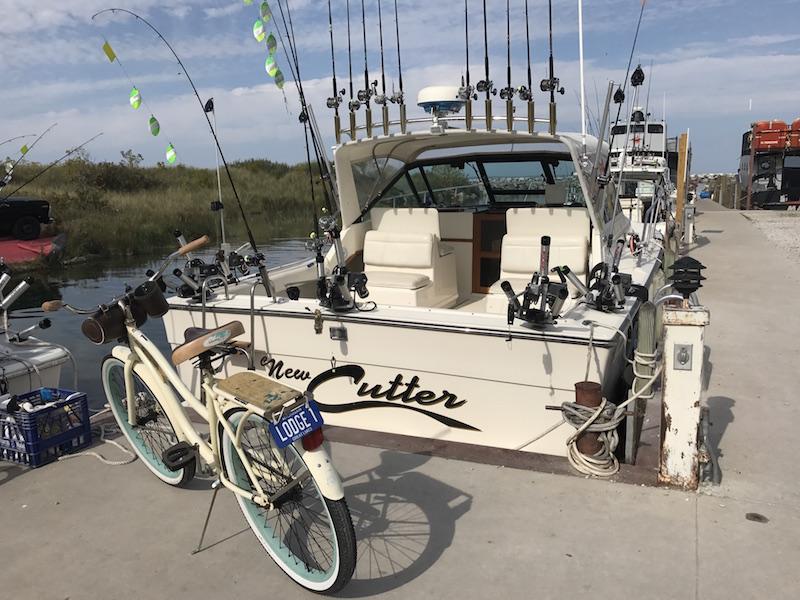 Captain Bill Wright | Cutter Charters | Fishtown Leland | Leland Lodge Bike Stops