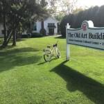Old Art Building   Leland MI   Leland Lodge Bike Stop