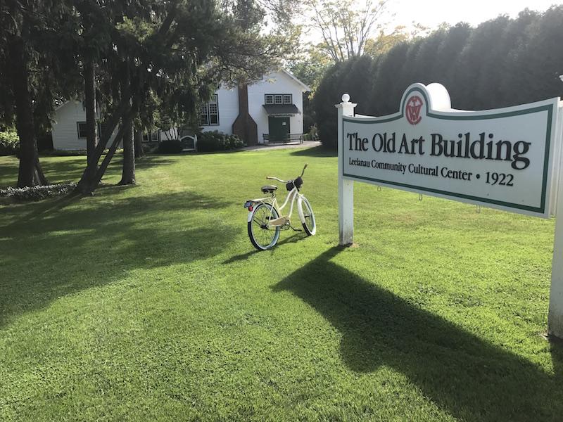 Old Art Building | Leland MI | Leland Lodge Bike Stop