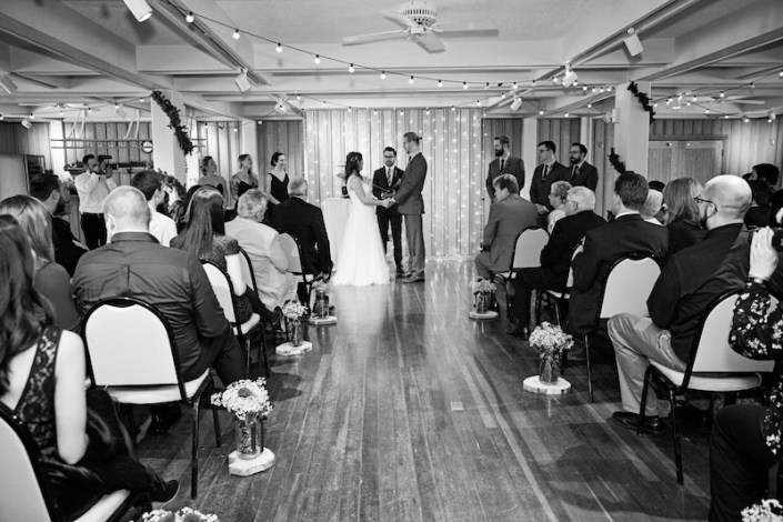 Leland Lodge | Fishtown Leland Hotel | Winter Wedding | Leland Lodge Wedding Ceremony
