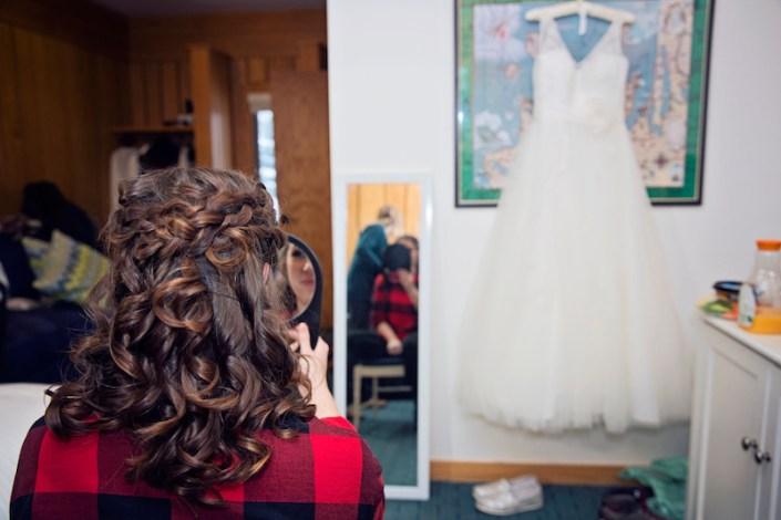 Leland Lodge | Fishtown Leland Hotel | Winter Wedding | Wedding Dress