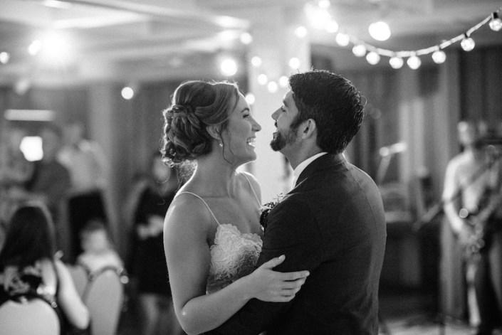 LL   Fishtown Leland Hotel   Fall Wedding   Bride & Groom   First Dance