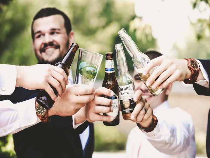 Leland Lodge | Fishtown Leland Hotel | Summer Wedding | Abby & Trent | Groom | Groomsmen