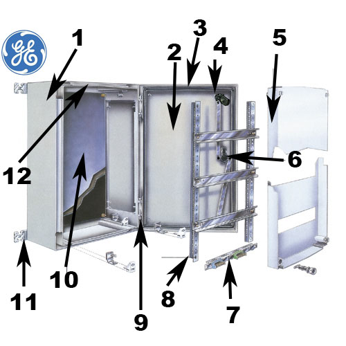 Armoire Lectrique Polyester IP66 General Electric ARIA 32