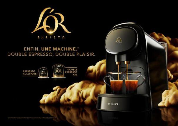 machine à café double expresso