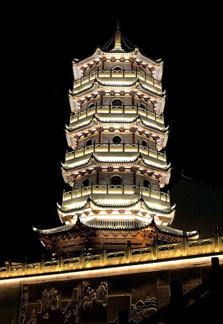 الصين برج الإضاءة