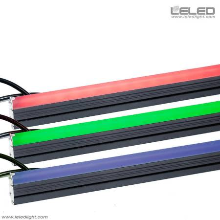 RGB LED linear lights for outdoor Architectural Outline