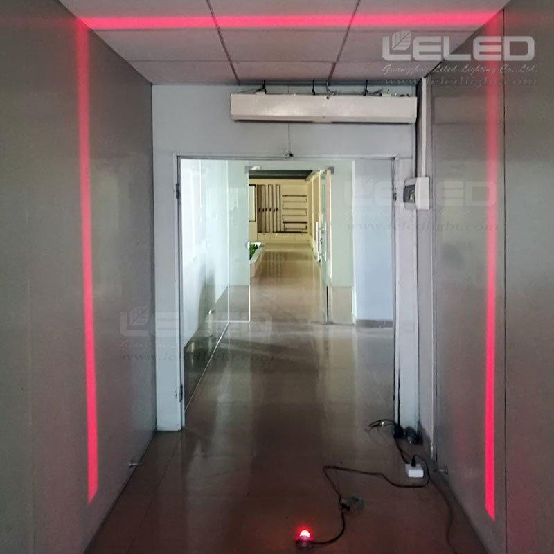 180° blade effect led idea