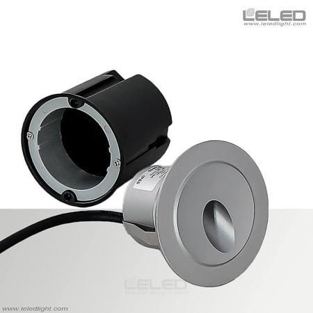 Round Recessed Wall Light Fixtures & 3W Outdoor Floor Washer Lights